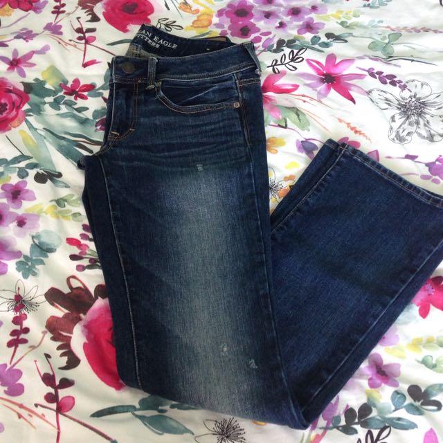 AE Dark Indigo Jeans