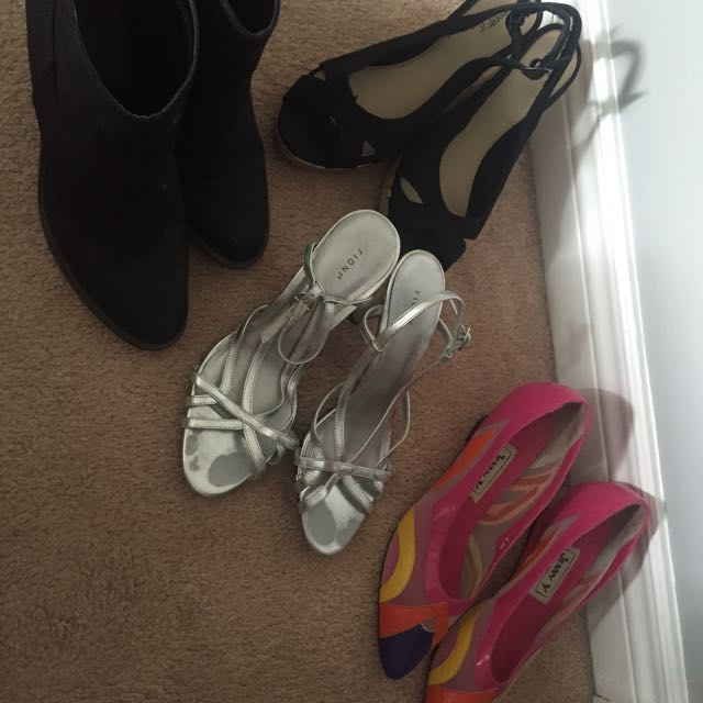 Assorted Shoes Size 8