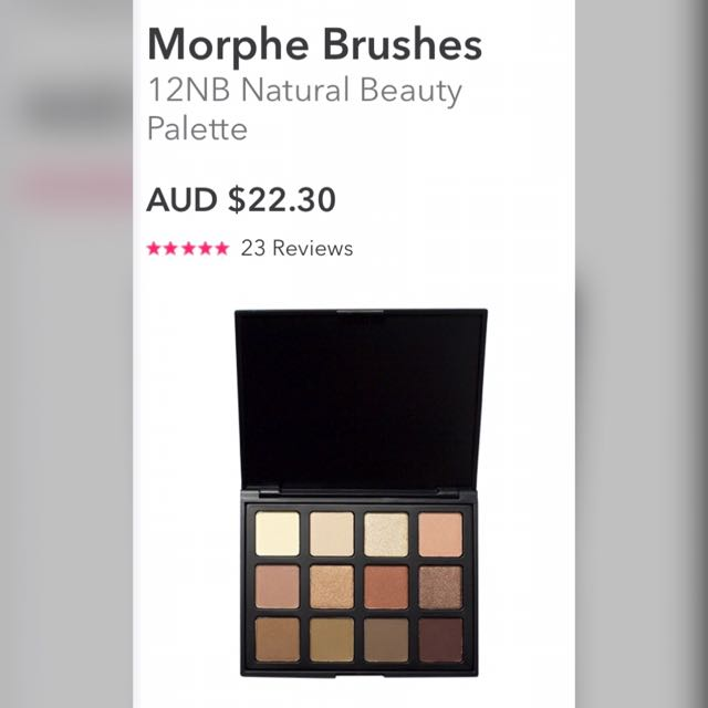 Beauty Bay Morphe Products