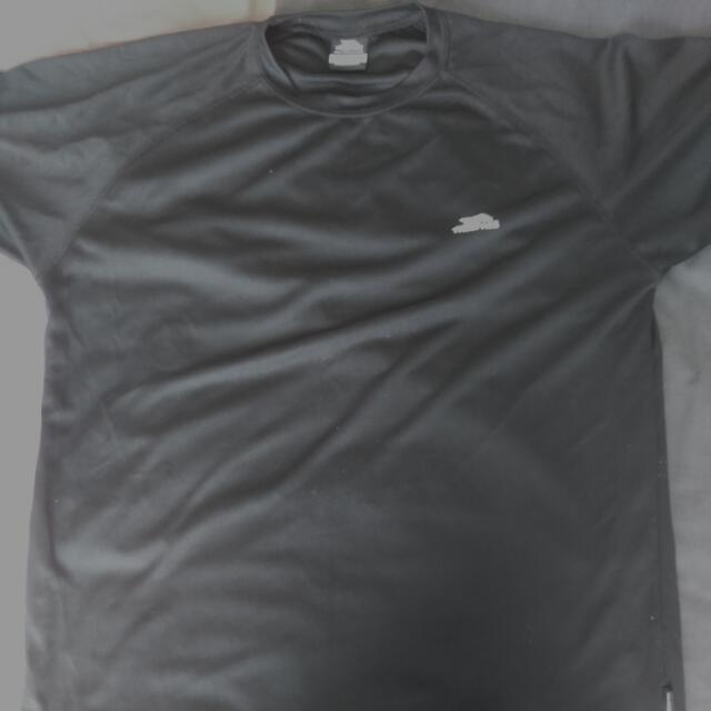 Black quick Drying Sports Top