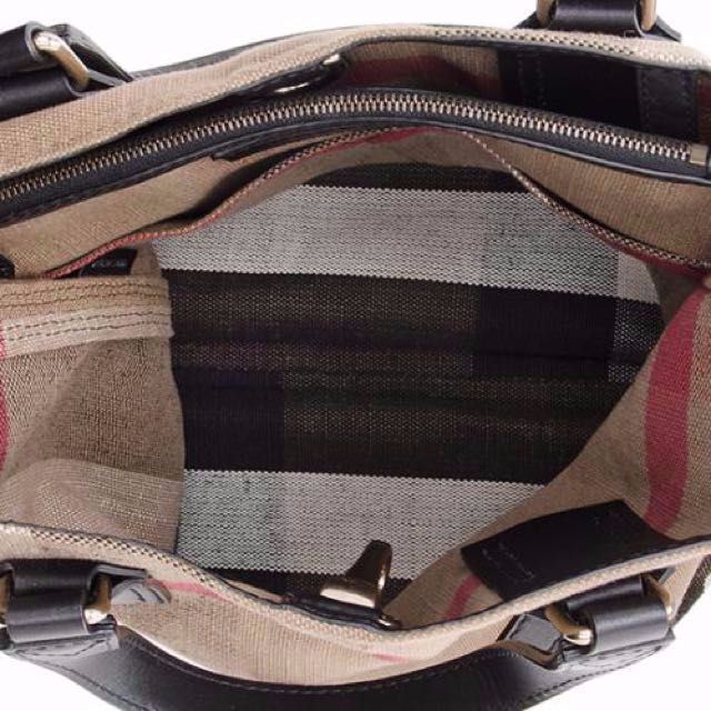 bf45d3295208 Burberry Brit Canvas Check Tottenham Medium Tote
