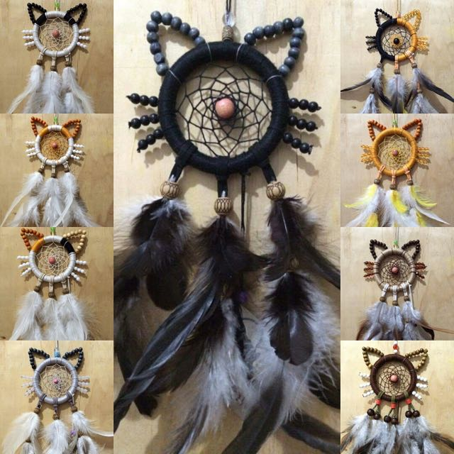 Cat Dream Catchers