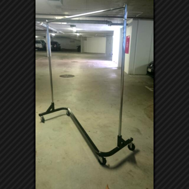 Clothing Rack Portable Stainless Steel
