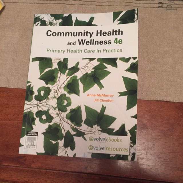 Community Health And Wellness 4e - Primary Health Care In Practice