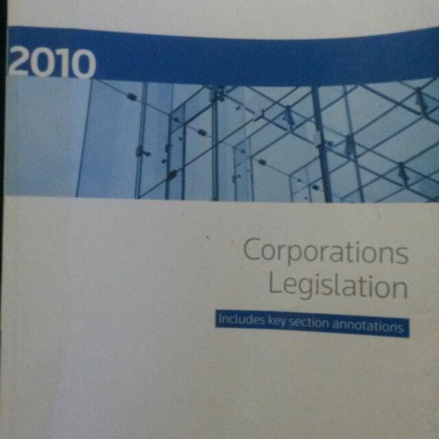 Corporations Legislation