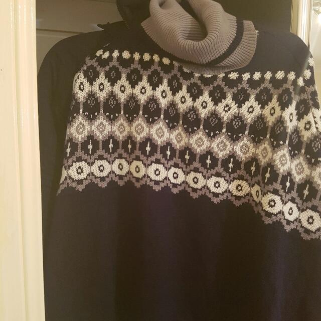 Dotti Batwing Knitted Poncho  AUD30