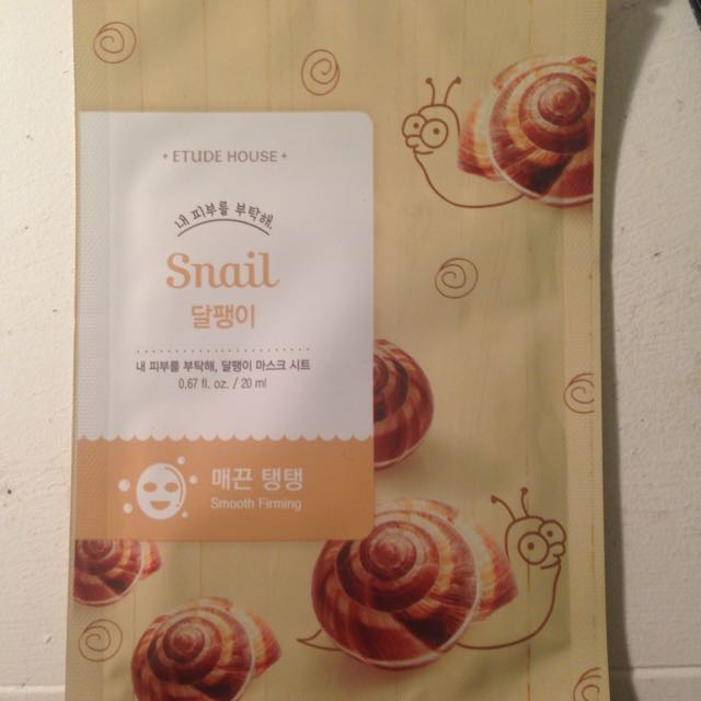 Etude House Snail Mask - 1 Sheet