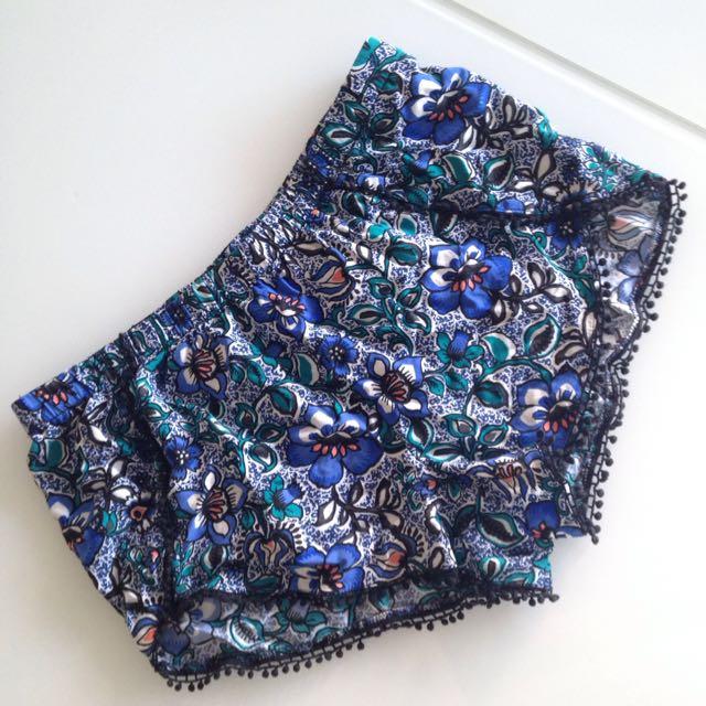 EXPRESS Floral Shorts