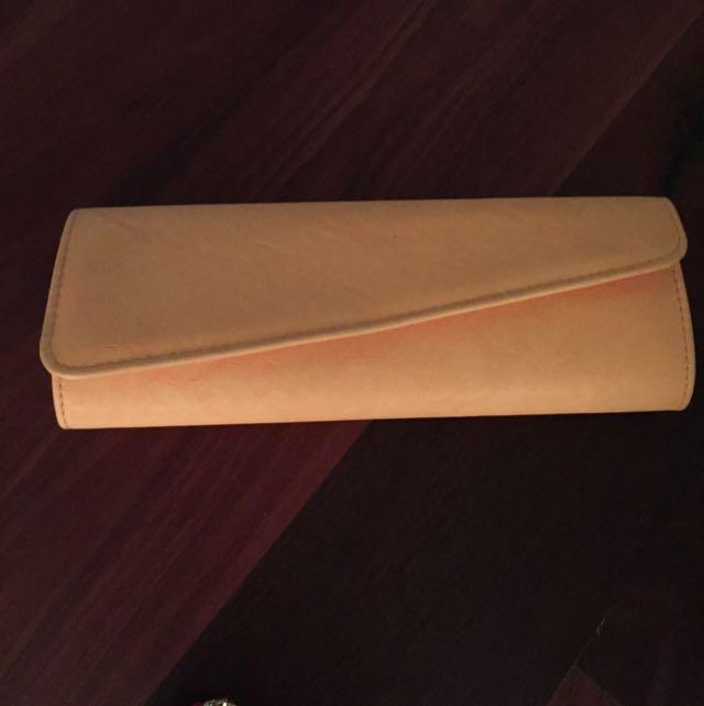 Fluro Orange Clutch