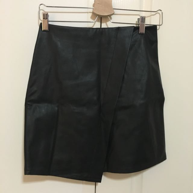 Forever New Leather Skirt