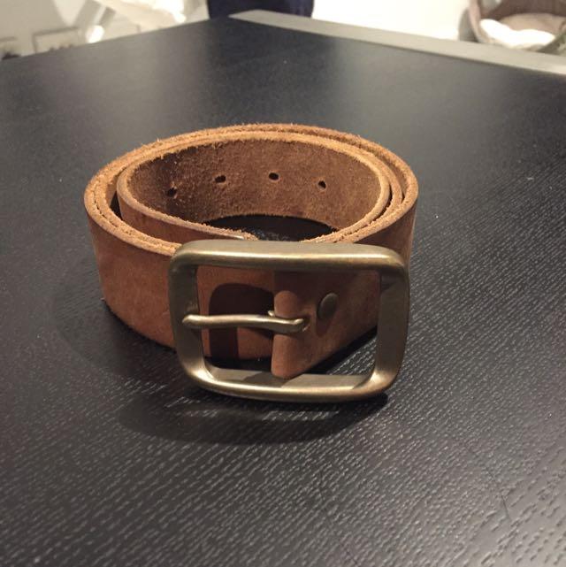 Gap Belt Genuine Cow Leather