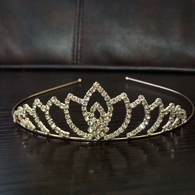Glass Crystal Crown