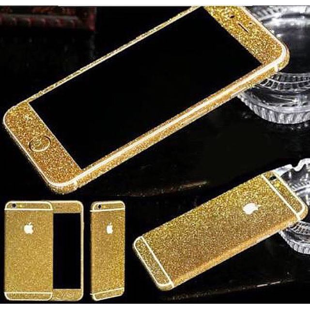 Glittery Iphone Sticker