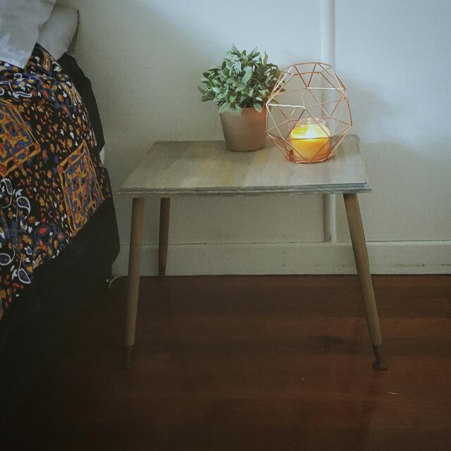 Grey Wash Side Table