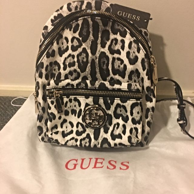 Guess Snow Leopard Backpack