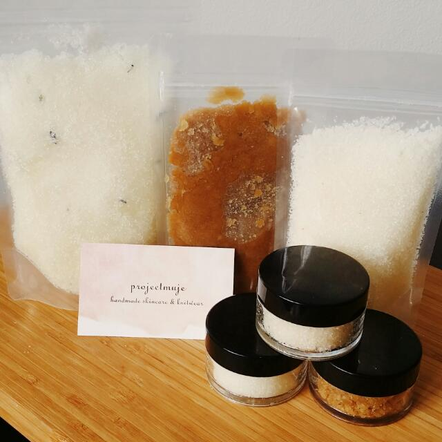 Handmade Organic Body Scrub