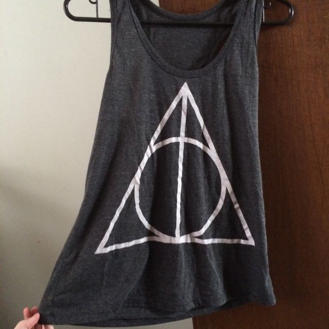 Harry Potter Deathly Hallows Singlet