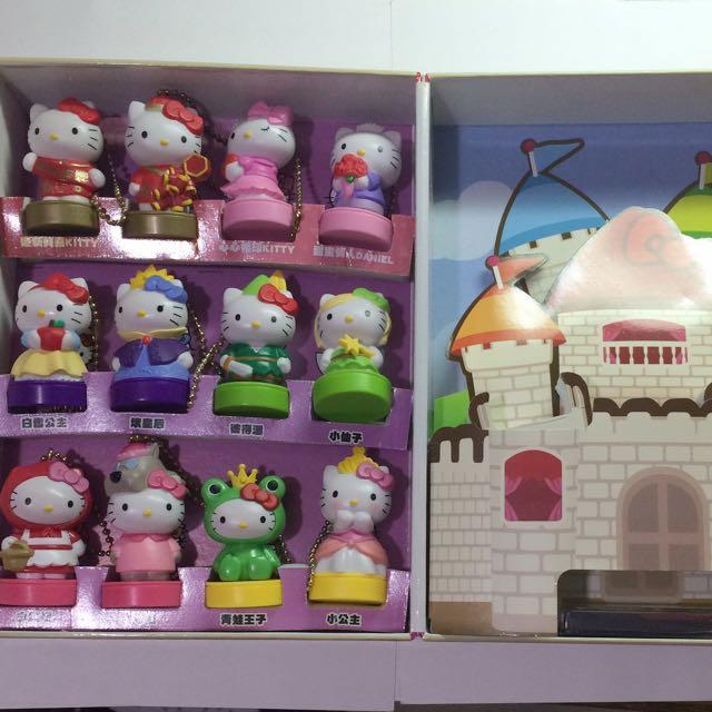 Hello Kitty 夢幻變裝吊飾-組