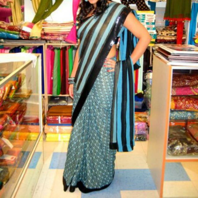Indian/Pakistani Saree With Blouse