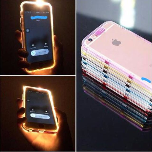 LED Light Bumper Case for Iphone