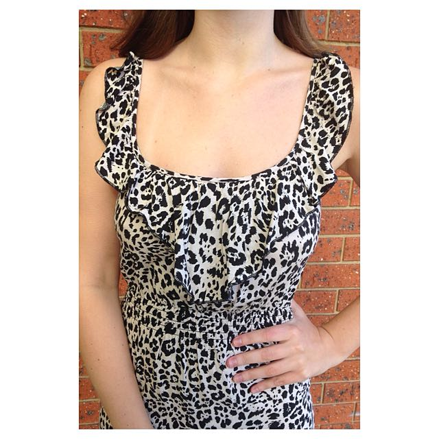 Dotti Leopard Print Dress