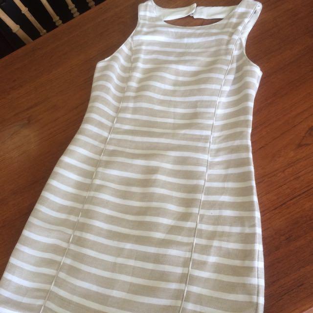 Linen Dress From Banana Republic