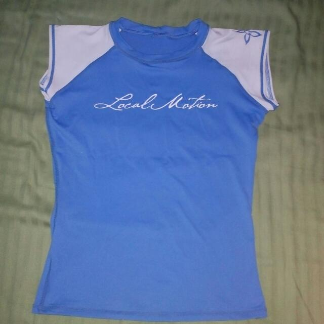 Local Motion Short Sleeves Rashguard
