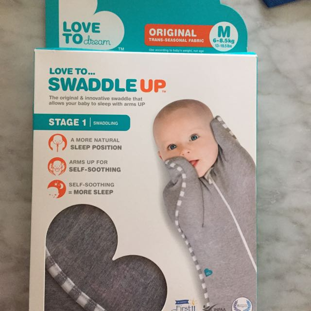 Love To Dream. Swaddle Up. Original.