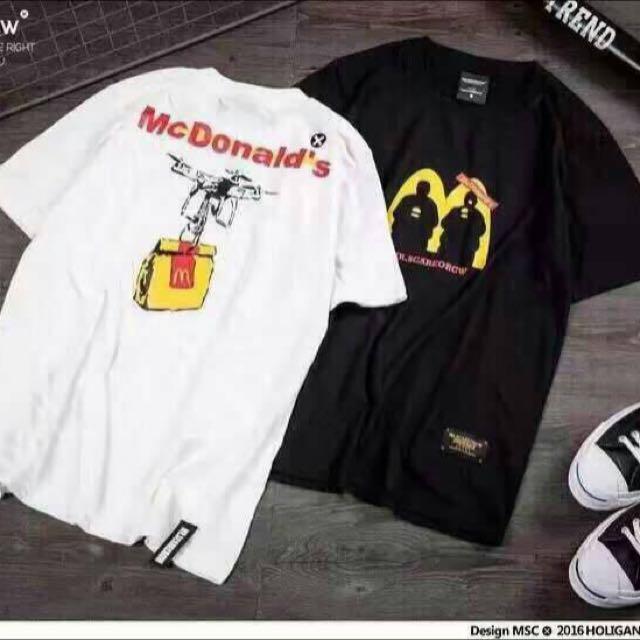 含運/麥當勞Mac上衣
