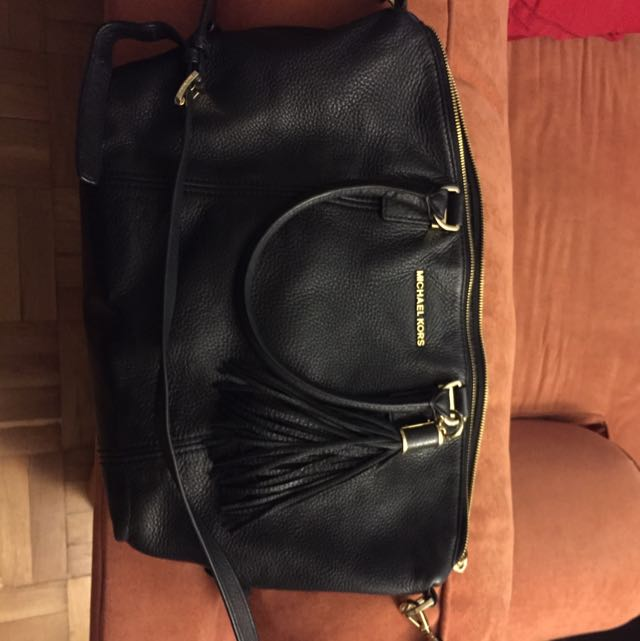 SOLD Michael Kors Leather Bag