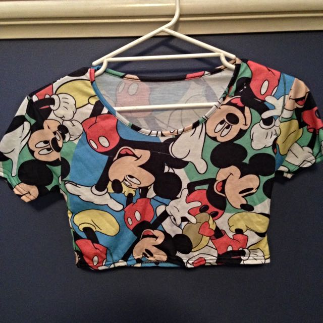 Mickey Mouse Crop