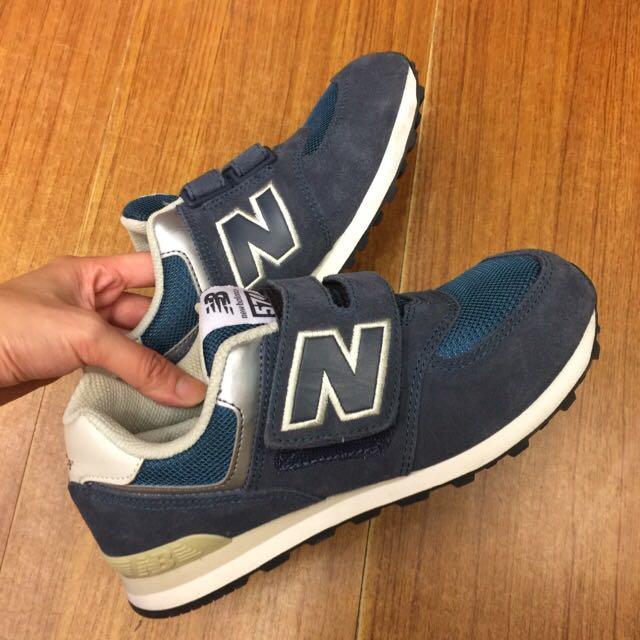 二手正品Newbalance 574童鞋 藍色 21cm New Balance