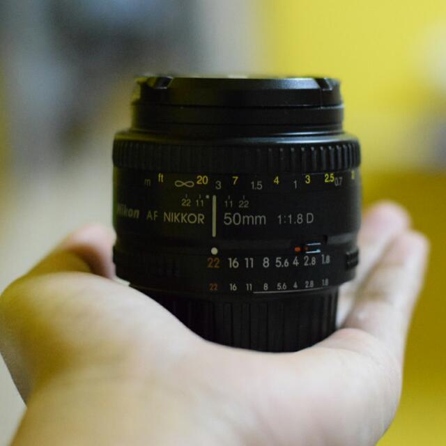 Nikon 50mm 1:1.8D