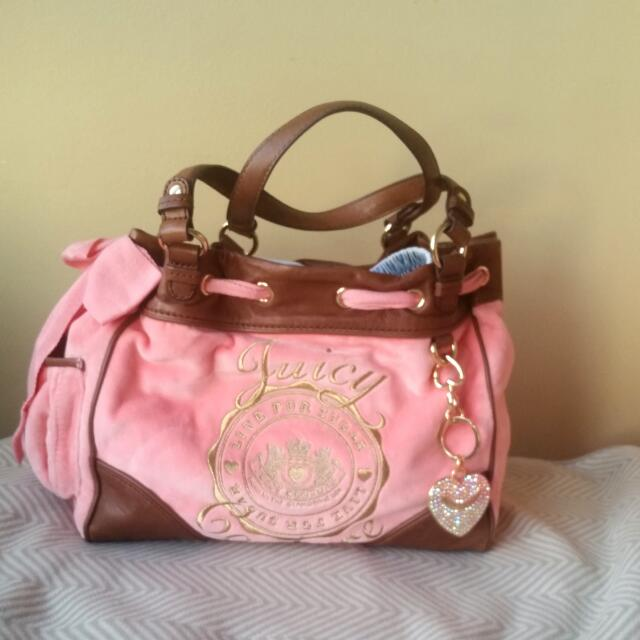 Pink Juicy Couture Bag