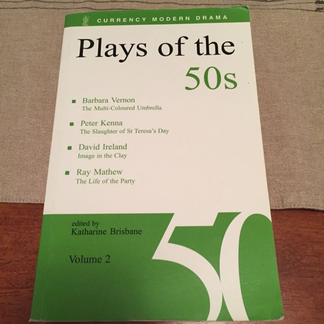 Plays Of The 50's Vol 2
