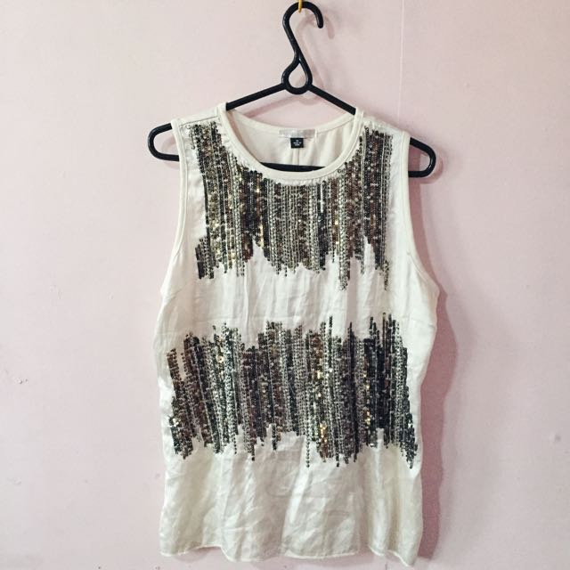 Rebecca Taylor Beaded Top