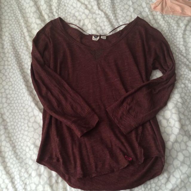 Roxy Burgundy Shirt