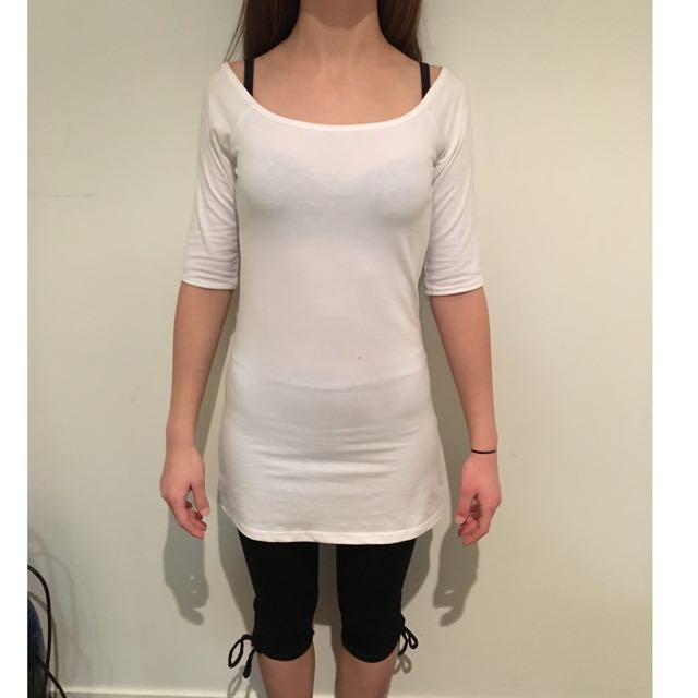 sabrina shirts with lace midi leggings