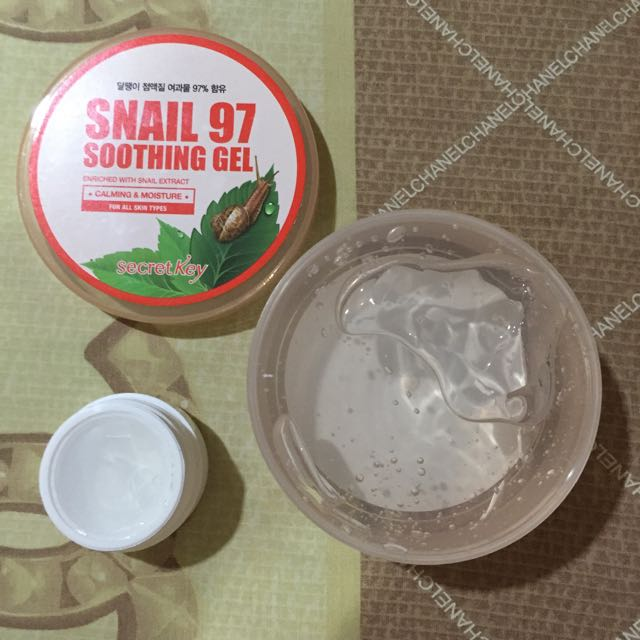 Secret Key Snail 97 Soothing Gel