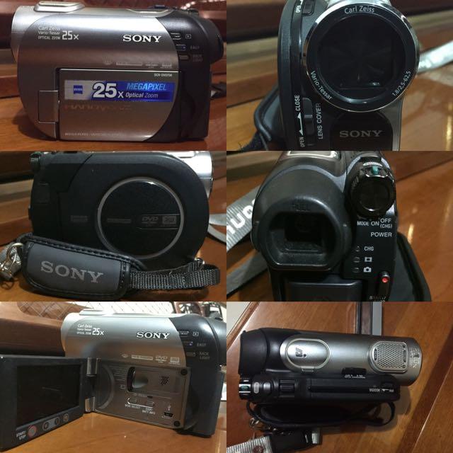 Sony Handycam DCR-DVD 708E