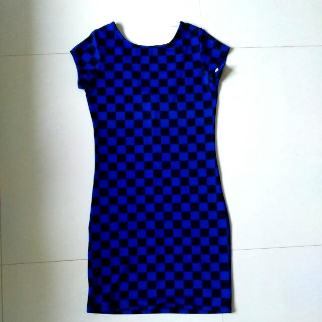 Square Bodycon Dress