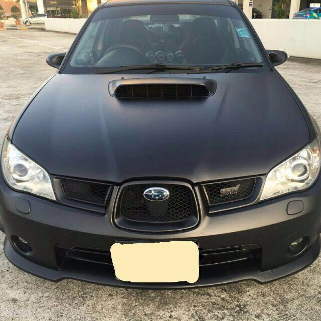 Subaru WRX 2 5 tuned for rent!