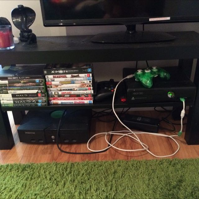Tv cabinet With DVDs And Games