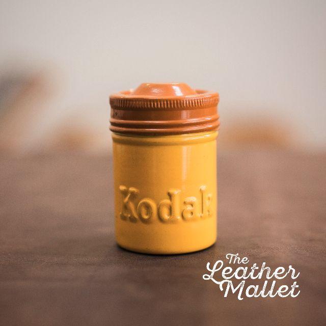 Vintage 1960s Kodak Film Canisters