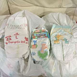 Brand New Assorted Brand's Baby Diapers