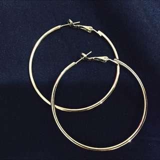 VACANZA 大圈圈耳環