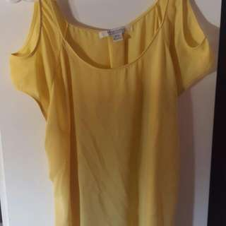 Bluenotes Yellow Shirt