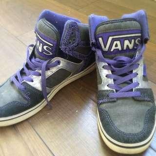 Genuine Purple Vans