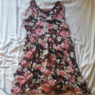 Bluenotes Floral Dress