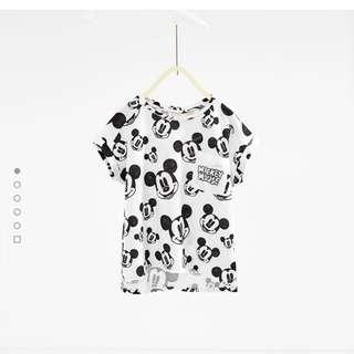 Zara Disney Print T-shirt